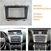 Autostereo Double Din Car Radio fascia Facia Panel Adapter for MAZDA 6 Atenza 2008-2012 Car Radio Installation Trim Fascia,MAZDA 6 Atenza car radio frame