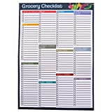 A5 Grocery / Food Shopping Organiser Notepad – Double Sided - 50 Sheets Per Pad - Size 210mm x 148mm