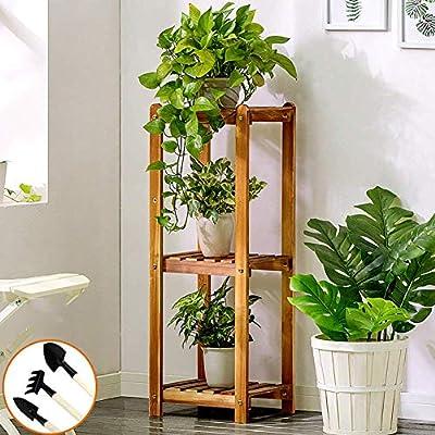 Shelf Soporte de Madera para Flores de Varias Capas, para jardín, Interior y Exterior, Sala de Estar, Multiusos: Amazon.es: Juguetes y juegos
