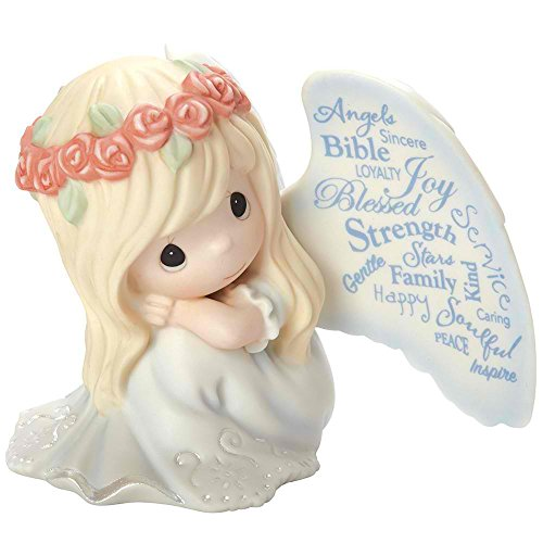 "Precious Moments ""May Your Life Be Filled With Blessings"" Commemorative Bisque Porcelain Figurine"
