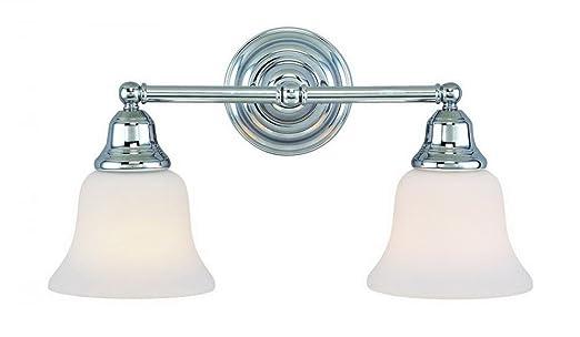 ImagesnasslimagesamazoncomimagesIruh - Chrome 2 light bathroom fixture