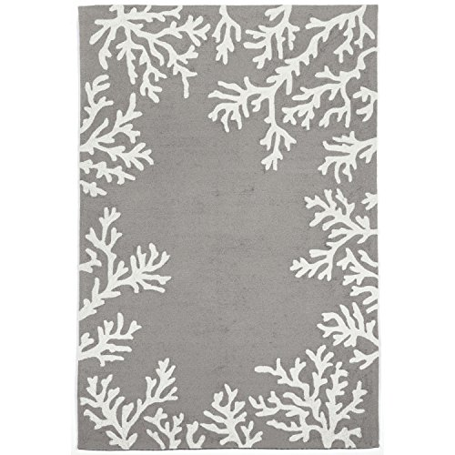 Liora Manne CA046A71647 Monaco Shell Border Rug, Indoor/Outdoor, 42