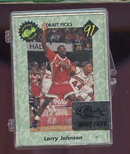1991 Classic Basketball Card Draft Picks Complete Set Larry Johnson ROOKIE FACT - 1991 Classic Draft