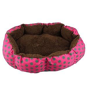 durable modeling Sannysis(TM) 1PC Soft Fleece Pet Warm Bed House Plush Cozy Nest Mat Pad