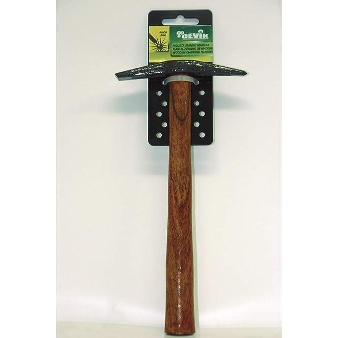 Cevik CE-PIQUETA - Piqueta para soldador mango madera: Amazon.es: Bricolaje y herramientas