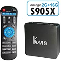 Edal KM8 PRO Amlogic S905X TV Box Octa Core Android 6.0 2G 16G TV BOX