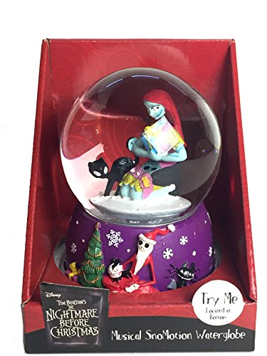Musical SnoMotion Waterglobe - Nightmare Before Christmas Snowglobe (The Nightmare Before Christmas Snowglobe)