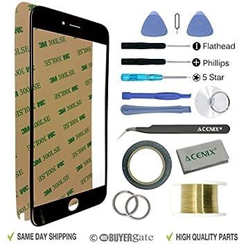 ACENIX Universal Reparaturset schwarz Farbe Apple iPhone 6 Plus/6S ...