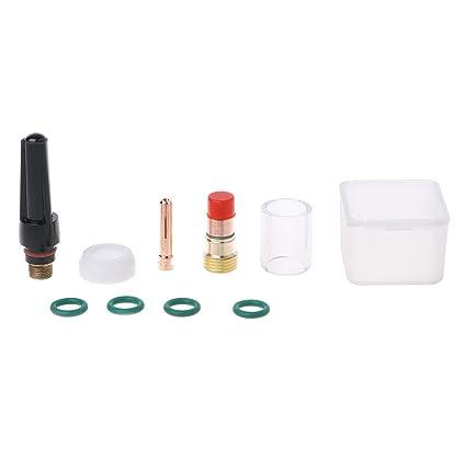 Techinal - Juego de 10 piezas de boquillas de cristal para soldar, para Wp-