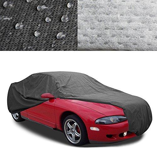 Mitsubishi Eclipse Signature Car Cover OxGord - 100% Water-Proof 5 Layers - Ready-Fit / Semi Glove Fit