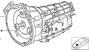 BMW ZF 5HP18 Auto Transmission 24001219956 1991 E36 320i 325i
