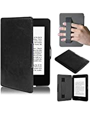 Kindle Paperwhite 5, Amison Smartshell Hülle Case Filz Sleeve für Amazon neue Kindle Paperwhite 5 (Schwarz)