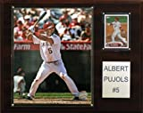 : MLB Albert Pujols Los Angeles Angels Player Plaque