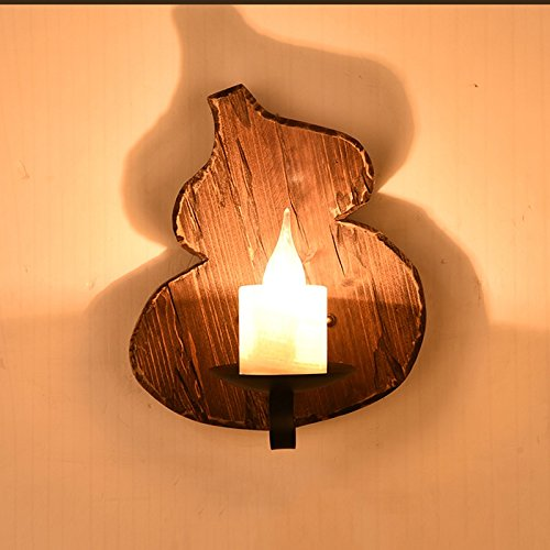 Cheap  Vinteen American Retro Industry Loft Iron Art Wall Lamp Lantern Bar Man..