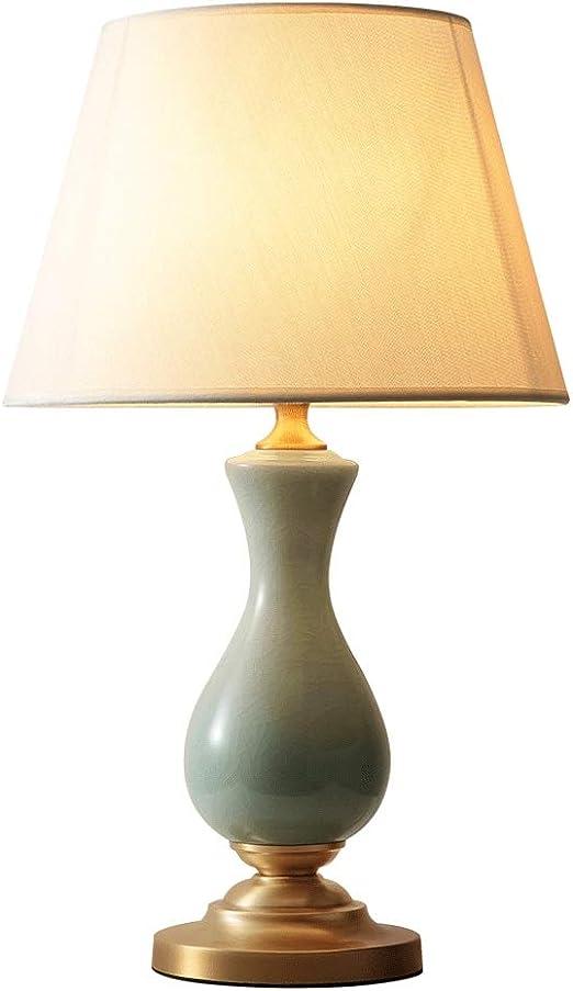 Xiix Lámparas de Mesa Color sólido Lámpara de Mesa de cerámica ...