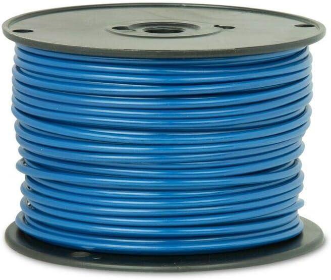 - 25 feet GPT Light Blue General Purpose Wire 10 Ga