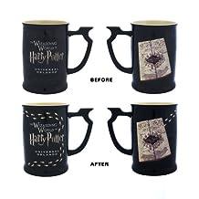 Wizarding World Harry Potter Marauder's Map Heat Reactive Footstep Coffee Tea Mug Exclusive - NEW