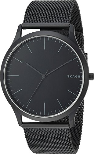 Skagen Men's 'Jorn' Quartz Stainless Steel Casual Watch, Color:Black (Model: SKW6422) by Skagen