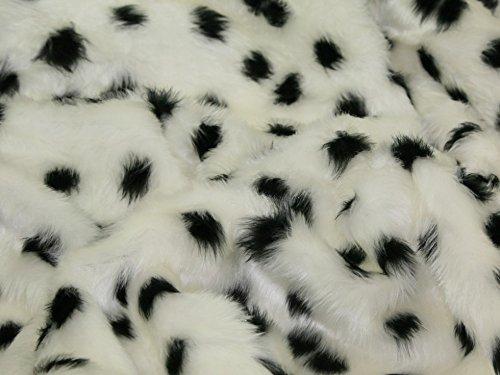 Cruella De Vil Costumes Pattern - Minerva Crafts Animal Print Short Pile