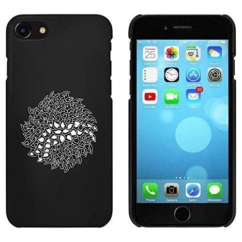 Noir 'Motif Abstrait' étui / housse pour iPhone 7 (MC00068057)