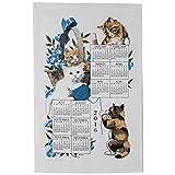 Curious Kittens Kitchen Towel Calendar by Kay Dee Designs