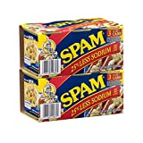 Spam Reduced Sodium Six 12 Ounce Cans Value Pack