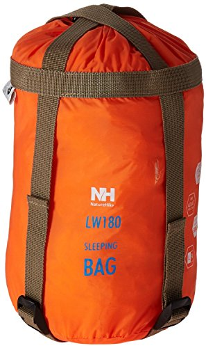 Naturehike Outdoor Sleeping Bag Camping Sleeping Bag Envelope Sleeping Bag (Orange) (Double Sided Stuff Sack compare prices)