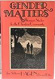 Gender Matters, June S. Hagen, 0310235715