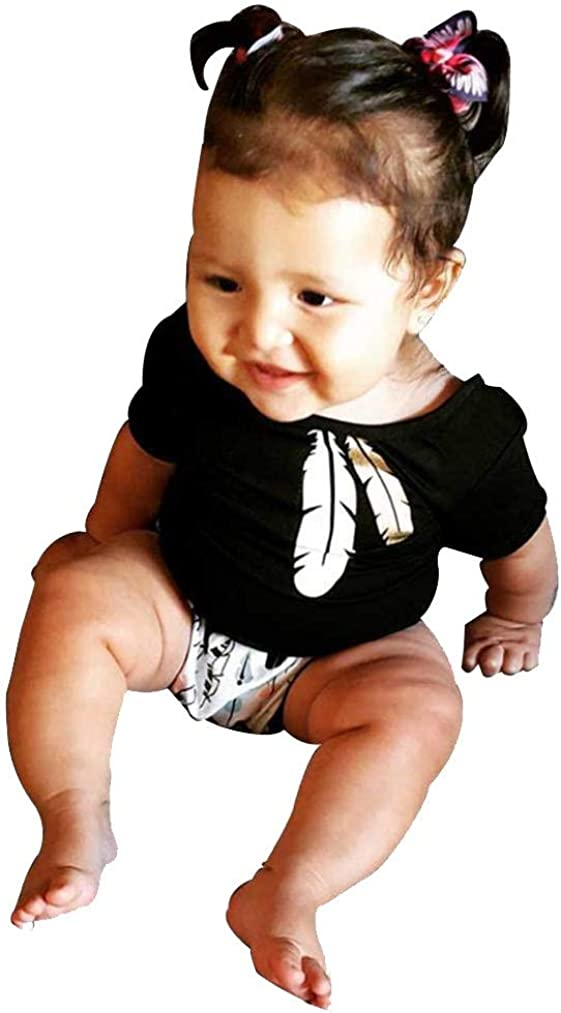 Fabal Baby Suits Toddler Infants Tops Shorts Pants Outfits Clothes Set