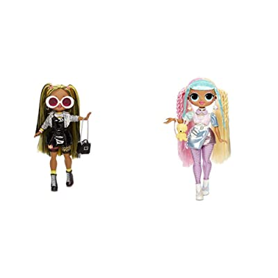 L.O.L. Surprise! O.M.G. Alt Grrrl Fashion Doll with 20 Surprises,Multicolor w O.M.G. Candylicious Fashion Doll with 20 Surprises,Multicolor: Toys & Games