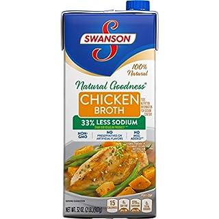 Swanson Natural Goodness Chicken Broth, 32 Oz. Carton