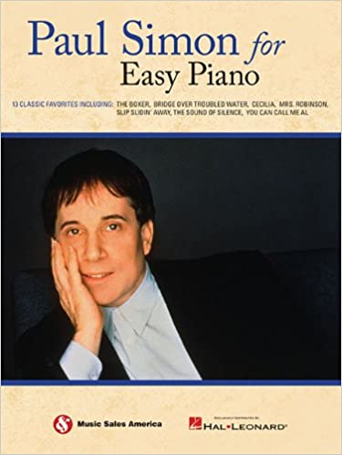 Paul Simon For Easy Piano Paul Simon 0884088557416 Amazon Books