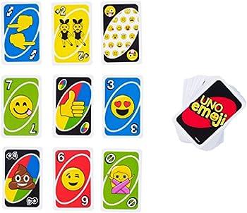 Mattel Games Uno Emoji Card Game 1