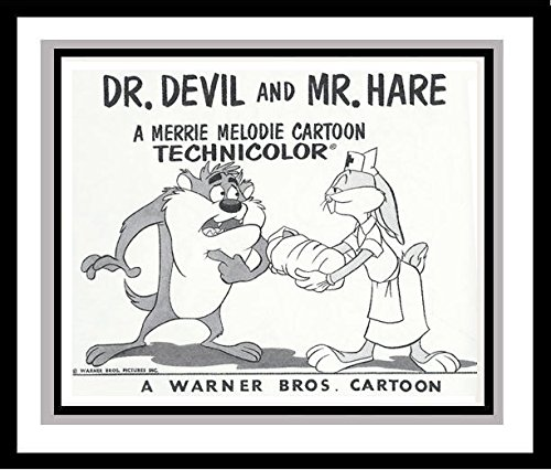 bugs-bunny-and-the-tasmanian-devil-in-dr-devil-and-mr-hare-studio-lobby-card-publicity-still-warner-