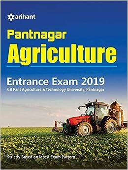 Buy Pantnagar Agriculture Entrance Examination 2019 Book