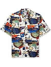 3fa86505 Men's Houston Astros MLB Classic Fit Hawaiian Shirt · Reyn Spooner
