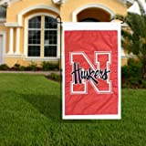 University of Nebraska Huskers Flag - Garden Size