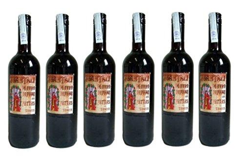 6x Mavrodaphne Rotwein lieblich Tsantali je 750ml/12% + 2 Probier Sachets Olivenöl aus Kreta a 10 ml - griechischer roter Wein Rotwein Griechenland Wein Set