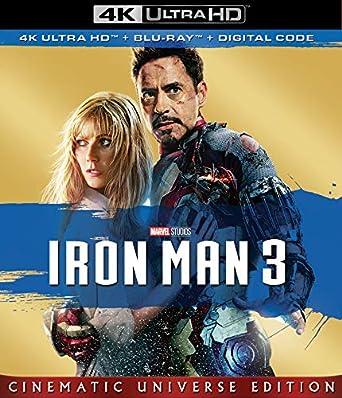 Amazon com: IRON MAN 3 [Blu-ray]: Robert Downey Jr , Gwyneth Paltrow