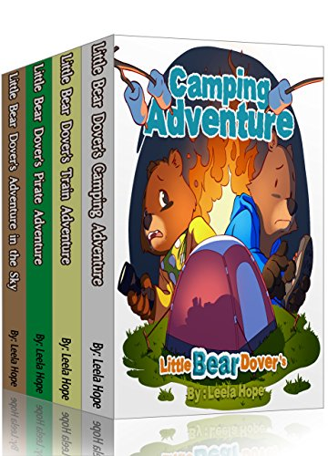 Children Boxed Sets kindergarten: Little Bear Dover's series: bedtime stories for kids ages 2-6 by [Hope, Leela]