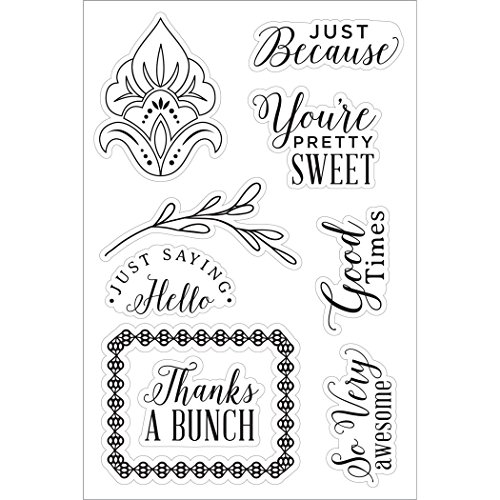 Hero Arts Basic Grey You're Pretty Sweet Clear Stamp Set