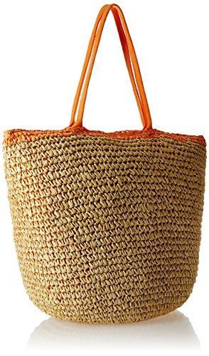 Roxy immaginazione Beach Tote, (beige - orange),