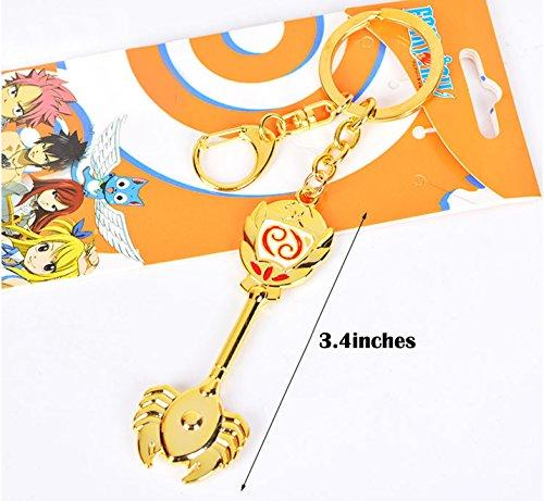 Dreamcosplay Fairy Tail Cancer Logo Pendant KeyChain Key Chain Cosplay ()