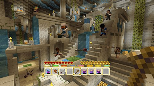 Minecraft - DLC,  Battle Map Pack 2 - Wii U [Digital Code] by Mojang AB (Image #2)