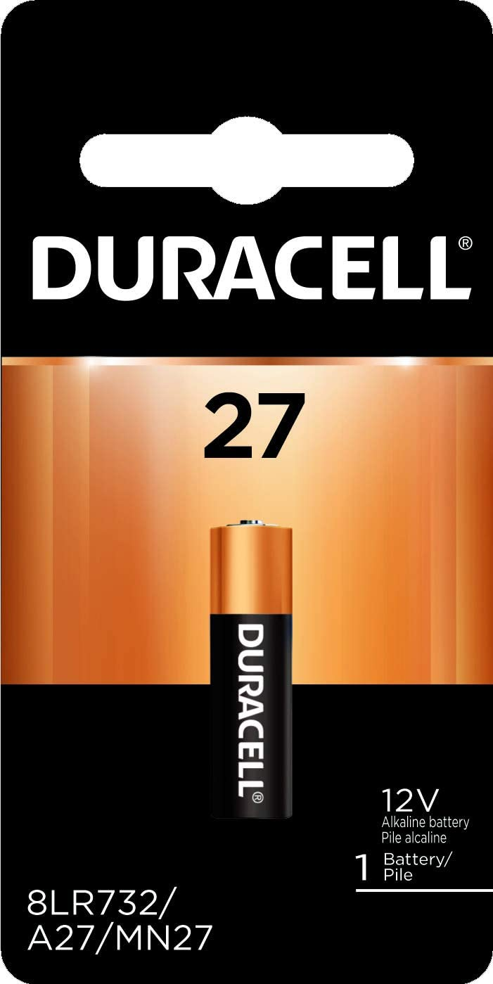 Duracell – 27 12V Specialty Alkaline Battery – long-lasting battery – 1 count