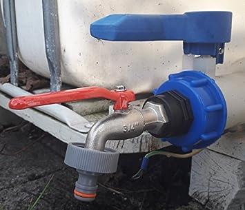 cmtech GmbH Montaje Tecnología cms60133mk99 Caño – Válvula de Bola con Conector Apto para Gardena,