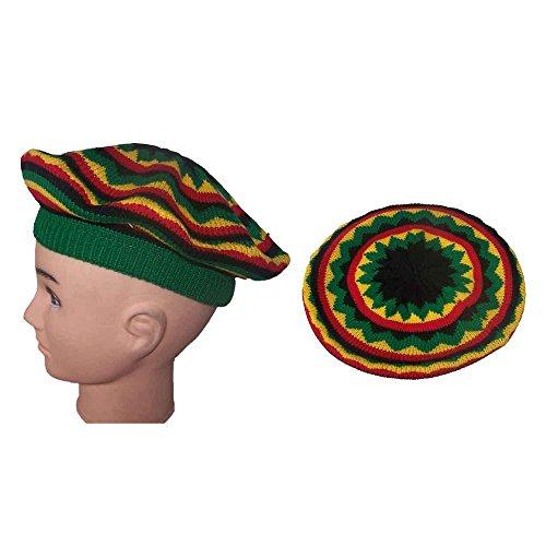 ggae Rasta Bob Marley Knitted Hats Winter Caps For Adults (Wca23 Z) ()