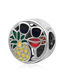 Live in Sunshine Bead 925 Sterling Silver Charm Summer Charms