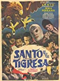 Santo y el aguila real 11 x 17 Movie Poster - Spanish Style A
