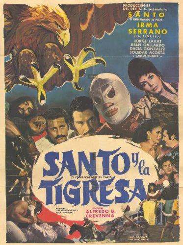 Santo y el aguila real 11 x 17 Movie Poster - Spanish Style